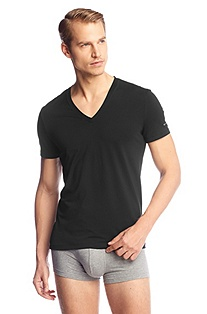T-shirt à encolure en V, Shirt SS VN BM