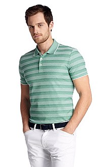 Regular-Fit Piqué-Poloshirt ´Bugnara 19`