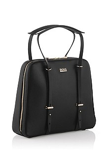 Leather handbag 'Niva'
