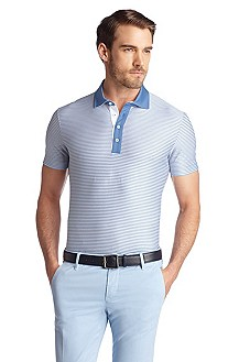 Cotton polo shirt 'Battista01'