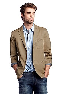Partially lined tailored jacket 'Bobis-W'