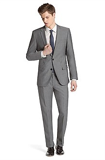 Modern slim fit suit 'Amaro/Heise'
