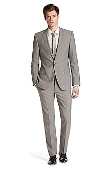 Modern slim fit suit from HUGO 'Aiko1/Heise'