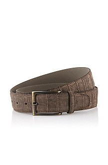 Pin buckle belt 'Cleandro'