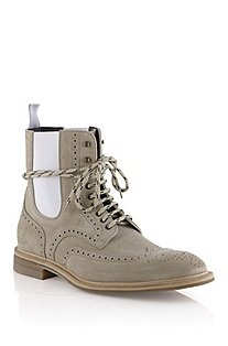 Pure suede boot 'Modens'