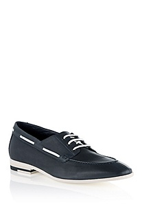 Leather lace-up 'Crentos'