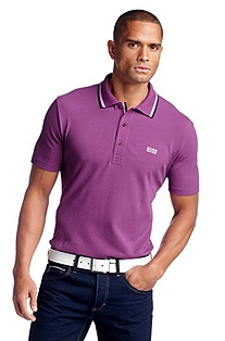 Regular fit piqué polo shirt 'Patrick'