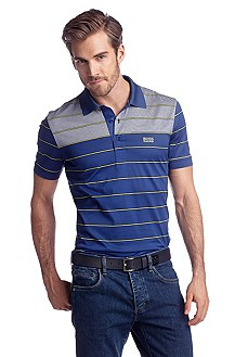 Striped polo shirt 'Paddy 3'