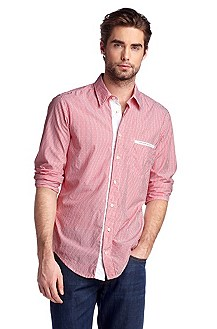 Casual shirt with a striped pattern 'CieloebuE'
