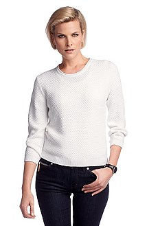 Viscose blend knit sweater 'F4655'
