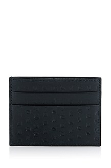 Calfskin leather card holder 'Gastior'