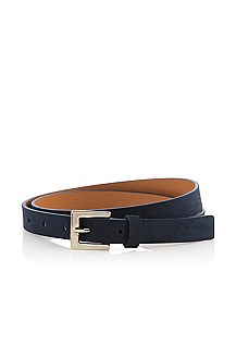 Belt with a rectangular belt buckle 'Caima'