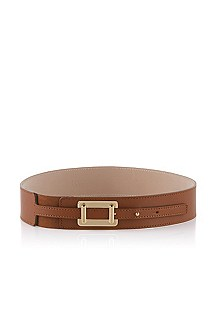 Belt with elegant snap clasp 'Chelia'