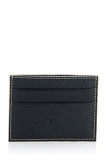 Calfskin leather card holder 'Marcor'