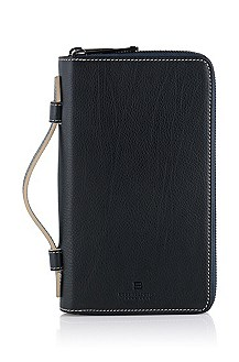 Calfskin leather organiser