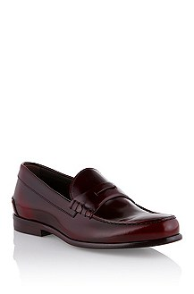 Brushed leather shoe 'Caprier'