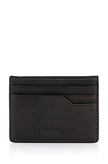 Cowhide leather card holder 'Occip'