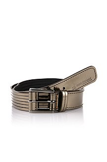 Belt with a metal buckle 'Evette-L'