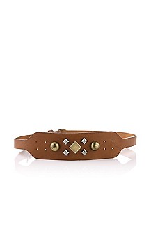 Cowhide leather belt 'Eleena'