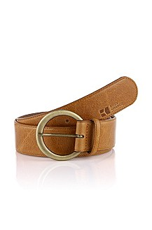 Belt with a round buckle 'Eleana'