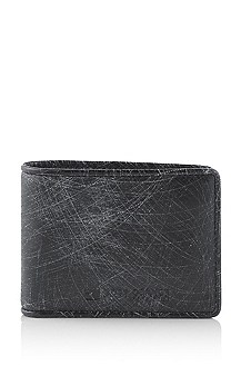Wallet with a note clip 'Rocks'