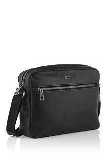 Messenger bag 'Lugin' van kalfsleer