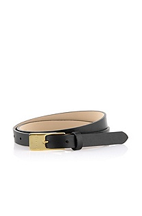 Belt with a highly polished pin buckle 'Tanyka'