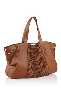 Shopper in fine calfskin leather 'Florie'