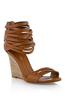 Leather sandal 'Fredi'