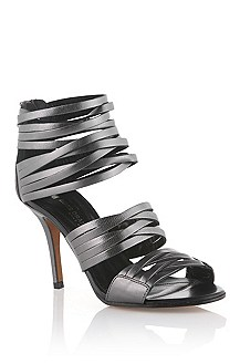 Shiny leather sandal 'Florice-L'