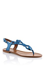 Gladiator sandal with braided details 'Tristyn'