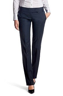 New wool and viscose, business trousers 'Taru5'