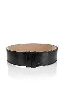 Leather belt with a pin buckle 'Larien'