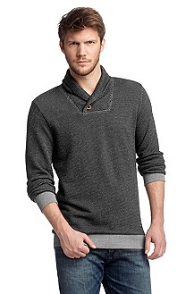 Pull-over en maille à col châle, Willage
