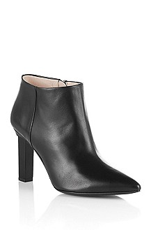 Lamb leather ankle boot 'Lyris'