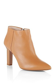 Bottines en cuir d'agneau, Lyris