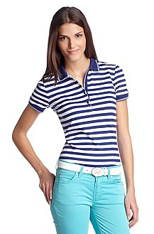 Striped polo shirt 'Paksi'