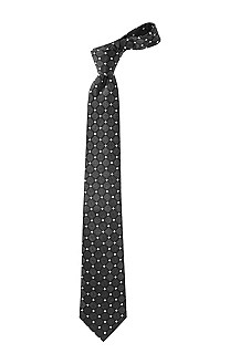 Tie with a diamond pattern 'TIE CM 8'
