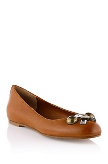 Leather ballerina 'Seila'