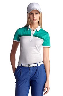 Polo shirt with a contrasting collar 'Payli'
