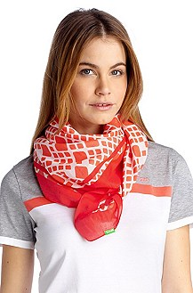 Scarf with an all-over pattern 'Scarfy4'