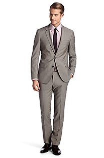 Suit in pure new wool 'Huge1/Genius1'