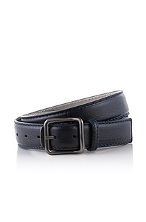 Belt in genuine deerskin leather 'Lennson'