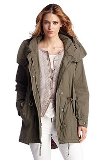 Parka in pure cotton 'Olba2-D'