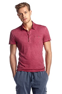 Cotton jersey polo shirt 'Perpignan'