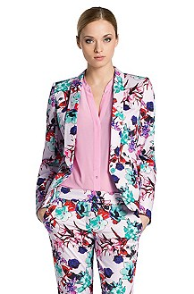 Blended cotton blazer 'Anbelle'