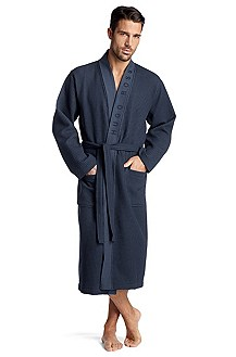 Cotton/viscose bathrobe 'Kimono BM'