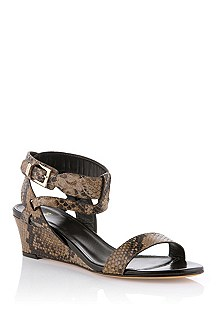 Cowhide leather sandal 'Melida-P'