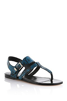 Leather sandal 'Marily-P'