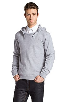 Cotton crew neck sweater 'Defy'